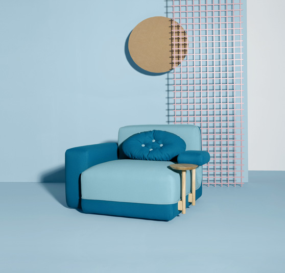 Sillon modelo Party de la firma Sancal